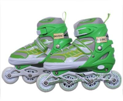 Dezire adjustable 4 wheel In-line Skates - Size 7-9 UK