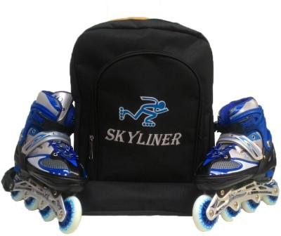 Skyliners Blue In-line Skates - Size 6-8 UK