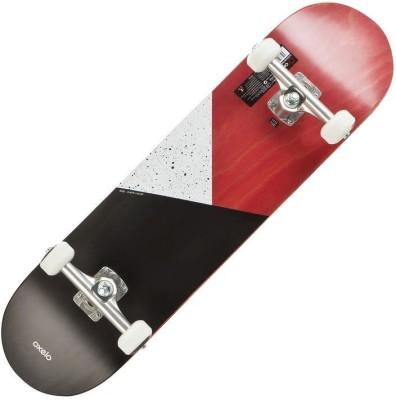 oxelo Red 31.5 inch x 8 inch Skateboard