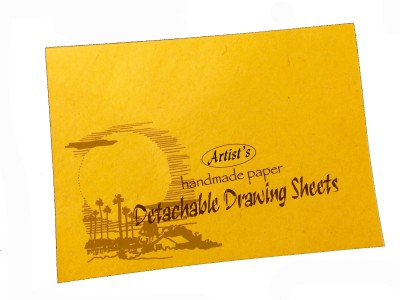 Creates & Designs Artist's Detachable Drawing Block Large Sketch Pad(Multicolour, 24 Sheets)