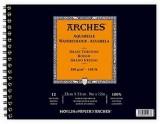 Arches Watercolour Spiral Album Rough Sk...
