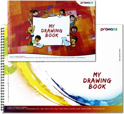 Prahaas Drawing Book With Butter Paper Sketch Pad