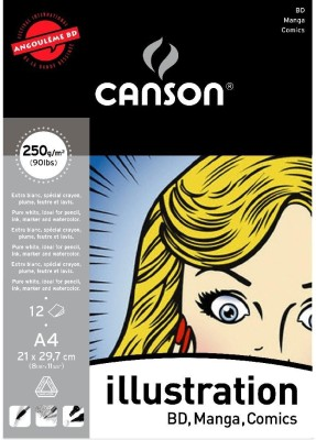 Canson Illustration Sketch Pad