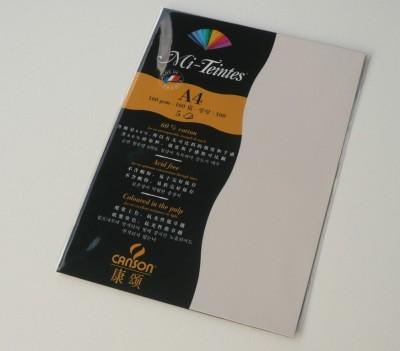 Canson Mi-Teintes A4 Colour Sheets 160gsm - Eggshell 112 Sketch Pad