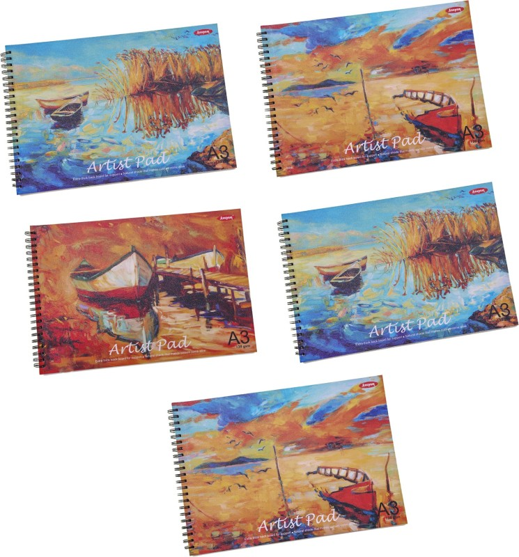 Anupam A023-24-25 Sketch Pad(Multicolor, 50 Sheets)