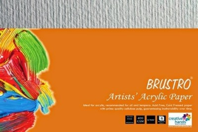Brustro Artists, Acrylic Papers 400 GSM 12