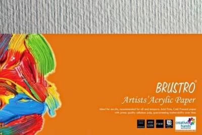 Brustro Artists, Acrylic Papers 400 GSM 7