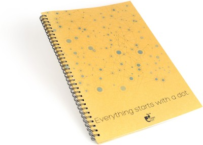 Thinkpot Everything Starts with a dot Sketch Pad(Brown, 40 Sheets)