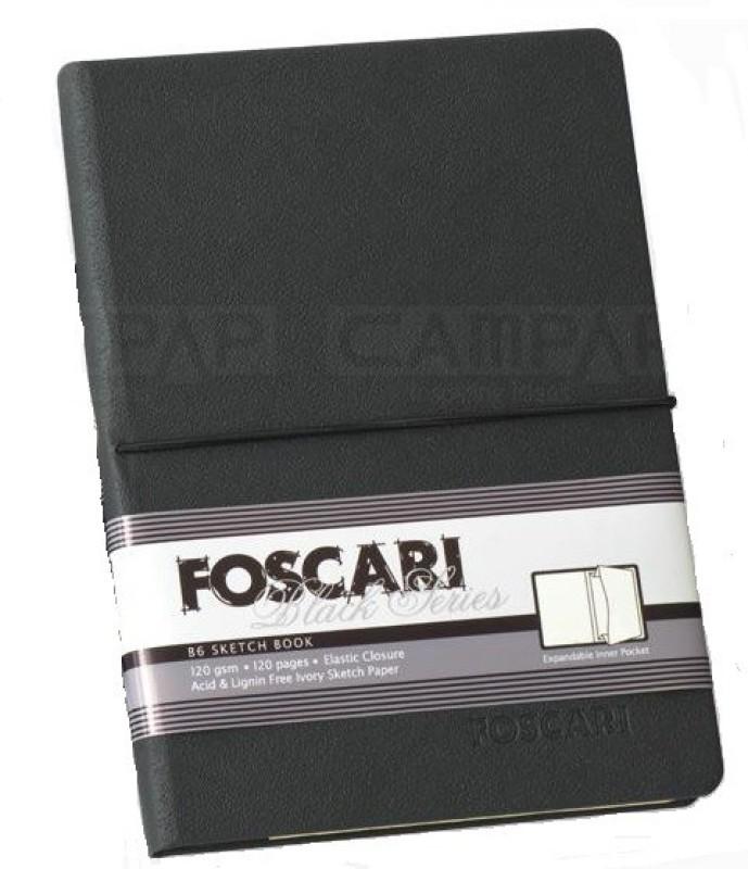 Campap FOSCARI Black Series Sketch Pad(Black, 120 Sheets)