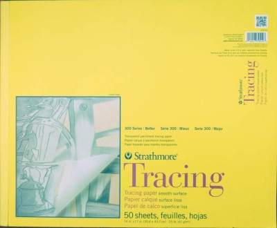 Strathmore Tracing Pad A3 Sketch Pad(Multicolor, 50 Sheets)