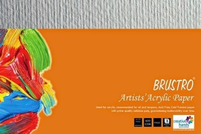 Brustro Artists, Acrylic Papers 400 GSM 9