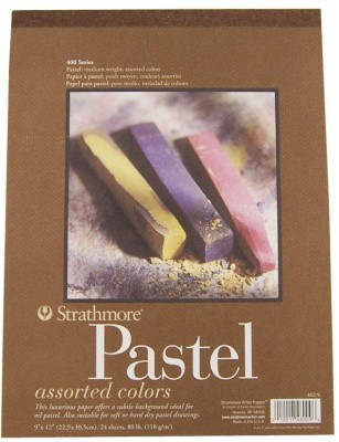 Strathmore Pastel Pad A4 Sketch Pad(Multicolor, 24 Sheets)