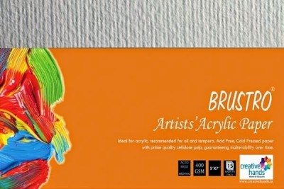 Brustro Artists, Acrylic Papers 400 GSM 5