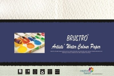 Brustro Artists, Watercolour Papers 300 GSM 9? X 12? Sketch Pad