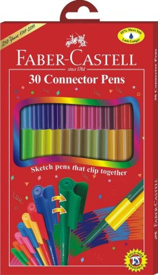 Faber Castell FC Fine Nib Sketch Pens  with Washable Ink