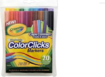 Crayola New Thick & Thin Lines Nib Sketch Pens