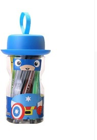 Dragon 36 Pcs Captain America Fine Nib Sketch Pen with Washable Ink(Multicolor)