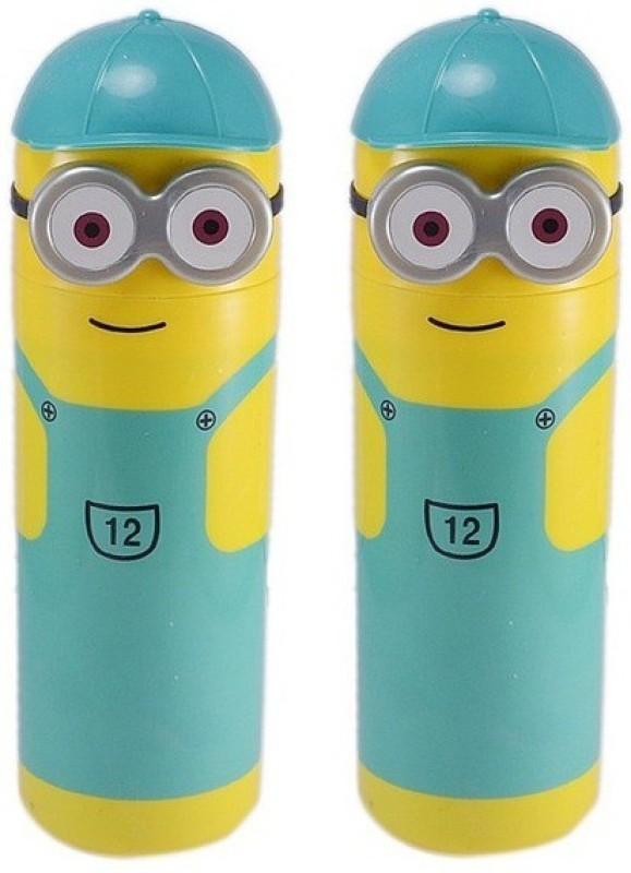 Tuelip Minion Character Superfine Nib Sketch Pens(Set of 2, Multicolor)