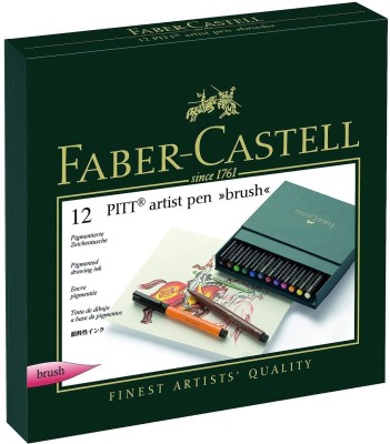 Faber-Castell Artist Set Super Fine Nib Sketch Pens