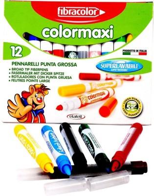 Fibracolor Color Maxi Fine Nib Sketch Pens  with Washable Ink