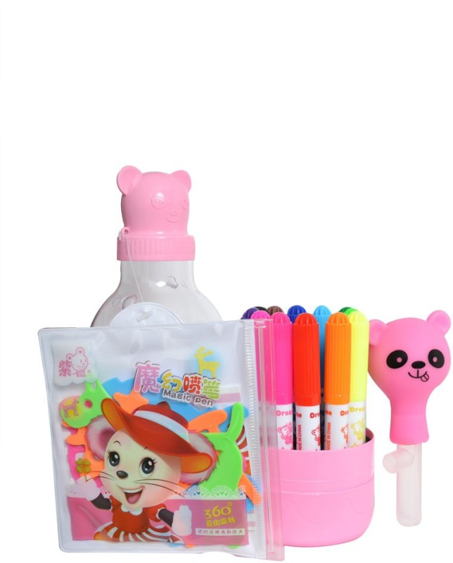 Happy Kid New Design best for gifting also Superfine Nib Sketch Pens(Set of 1, Multicolor)