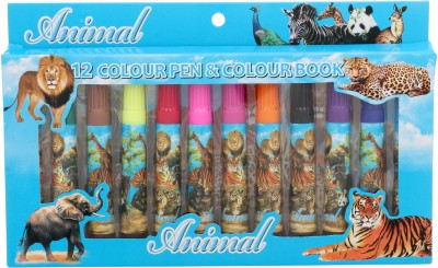 Priya Exports Animal Fine Nib Sketch Pens