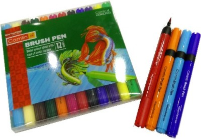 Camlin Sketch Brush Tip Nib Sketch Pens
