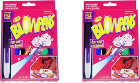 DreamBag Kids Superfine Nib Sketch Pens with Washable Ink(Set of 2, Multi-colour)