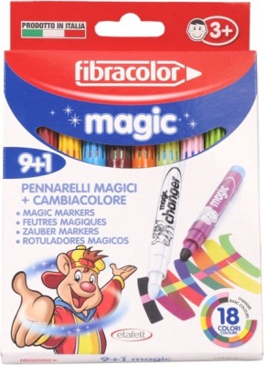 Fibracolor Magic Color Fine Nib Sketch Pens  with Washable Ink