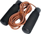 Kobo Leather Weighted Skipping Rope (Ass...