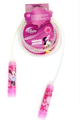 Disney Minnie Rainbow Kids Skipping Rope(Pink, Pack of 1)