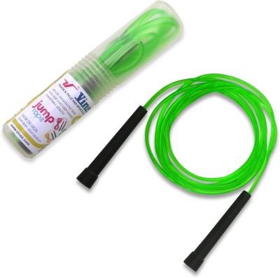 Vinex Vinex Jumping Rope - Premium (PVC, Transparent Green) Freestyle Skipping Rope