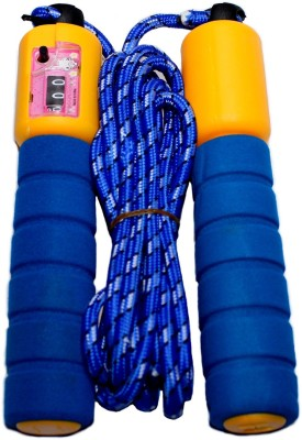 Tomato Tree Counter Freestyle Skipping Rope(Blue, Yellow, Pack of 1)