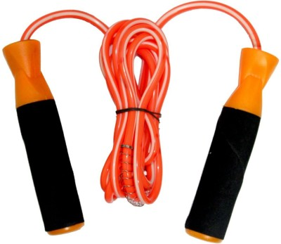 TG BEST QUALITY JUMPING WITH COMFORTABLE FOAM GRIP- Multicolor   COLOR Speed Skipping Rope