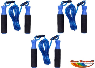 Gee Power Adjustable (Set of 3) Freestyle Skipping Rope