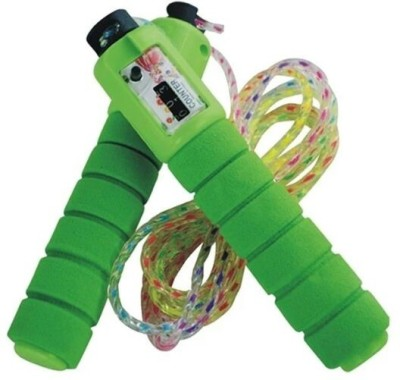 kashish Toys Kashish Jumping With Green Counting Skipping Rope. Speed Skipping Rope