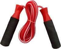 Premium Quality PVC Ball Bearing Skipping Rope(Red, Black, Pack of 1)