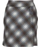 Fabulloso Checkered Women's Pencil Brown...