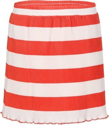 Miss Alibi by Inmark Striped Girl's Regular Orange Skirt