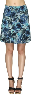 20Dresses Printed Women's A-line Blue Skirt