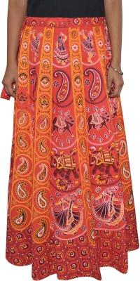 Sunshine Printed Women's Wrap Around Multicolor Skirt
