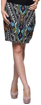 Hermosear Printed Women's Tube Multicolor Skirt