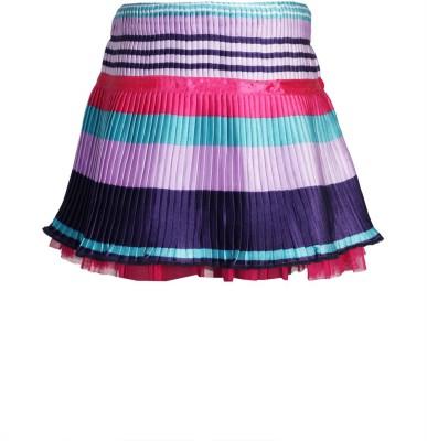 KARROT by Shoppers Stop Striped Baby Girl's Regular Multicolor Skirt