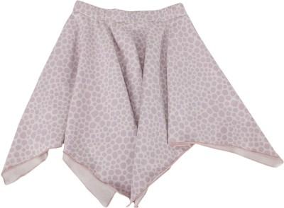 Nino Bambino Polka Print Girl's Asymetric Pink Skirt