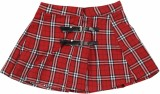 GJ Jeans Unltd Checkered Girls Pleated R...