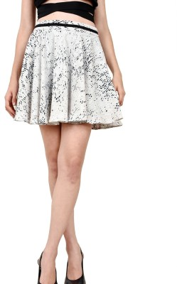 LA ATTIRE Animal Print Women's A-line Multicolor Skirt