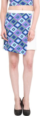 Ridress Printed Women's Pleated Multicolor Skirt