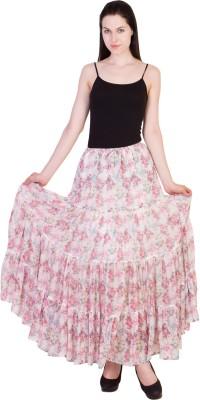 14forty Printed Women's Regular Multicolor Skirt