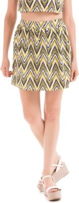 Prym Printed Women's A-line Multicolor Skirt