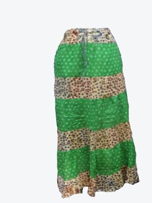 Vg store Self Design Women's Regular Multicolor Skirt